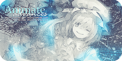 Anime blue signature by Lamia-149