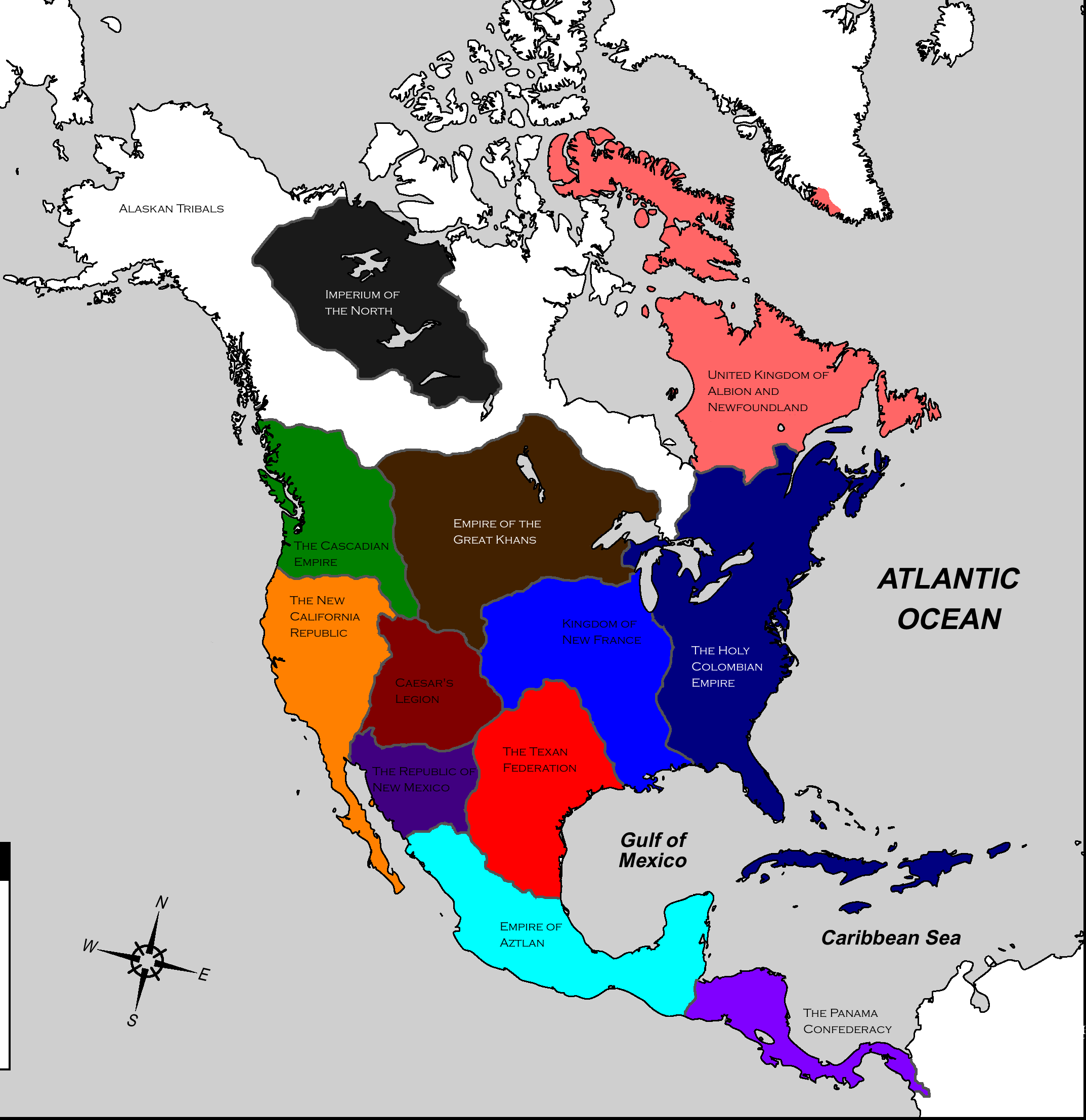 North AmericaFallout by Beastboss on DeviantArt
