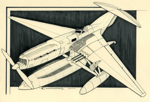 Air pirate plane - Chaparral 'Riccio di mare'