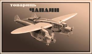 tovarisch CHAPLIN by lnago