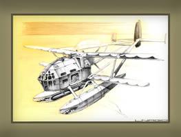 'Sea Bear' air pirate floatplane by lnago