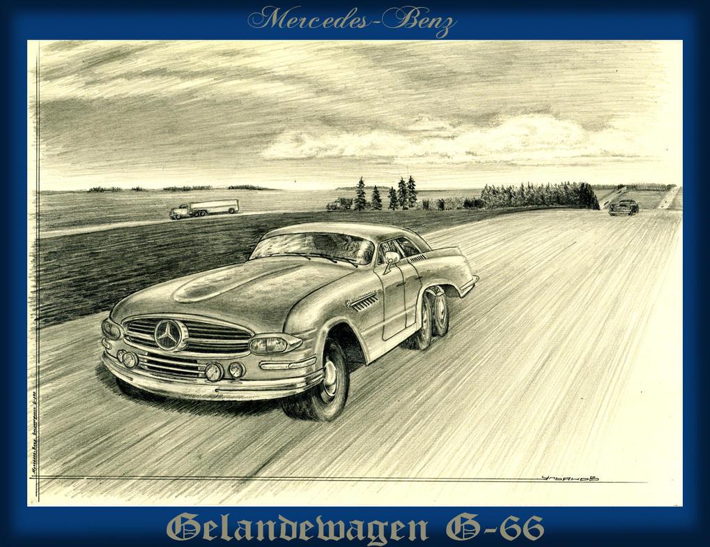 Mercedes benz gelandewagen g 66 by lnago on deviantart for Mercedes benz gelandewagen