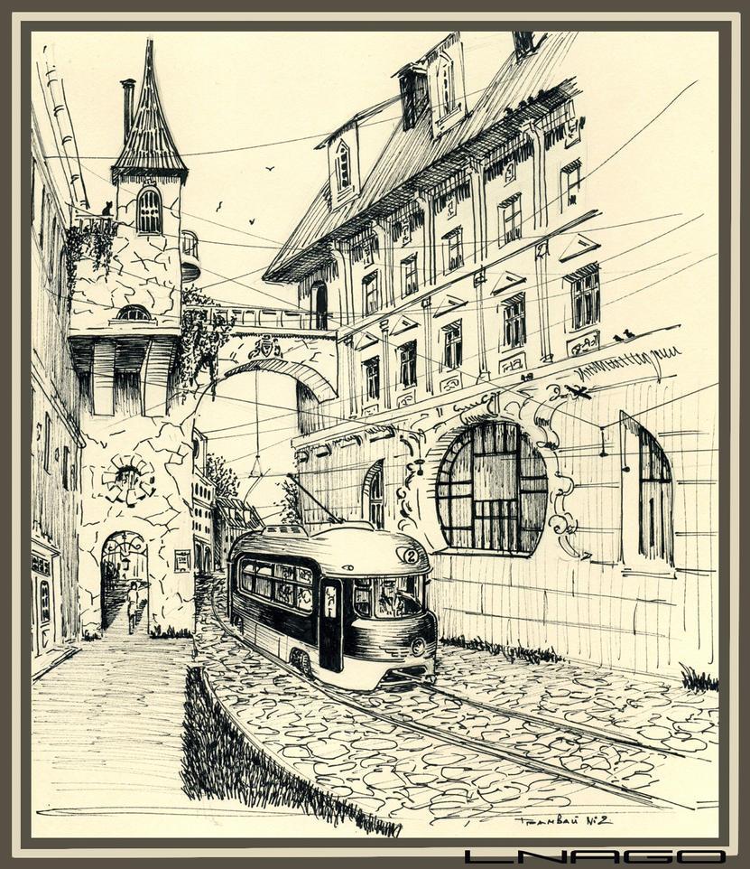 Tram No 2 by lnago