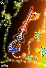Drive Wing keyblade by awsomeventus