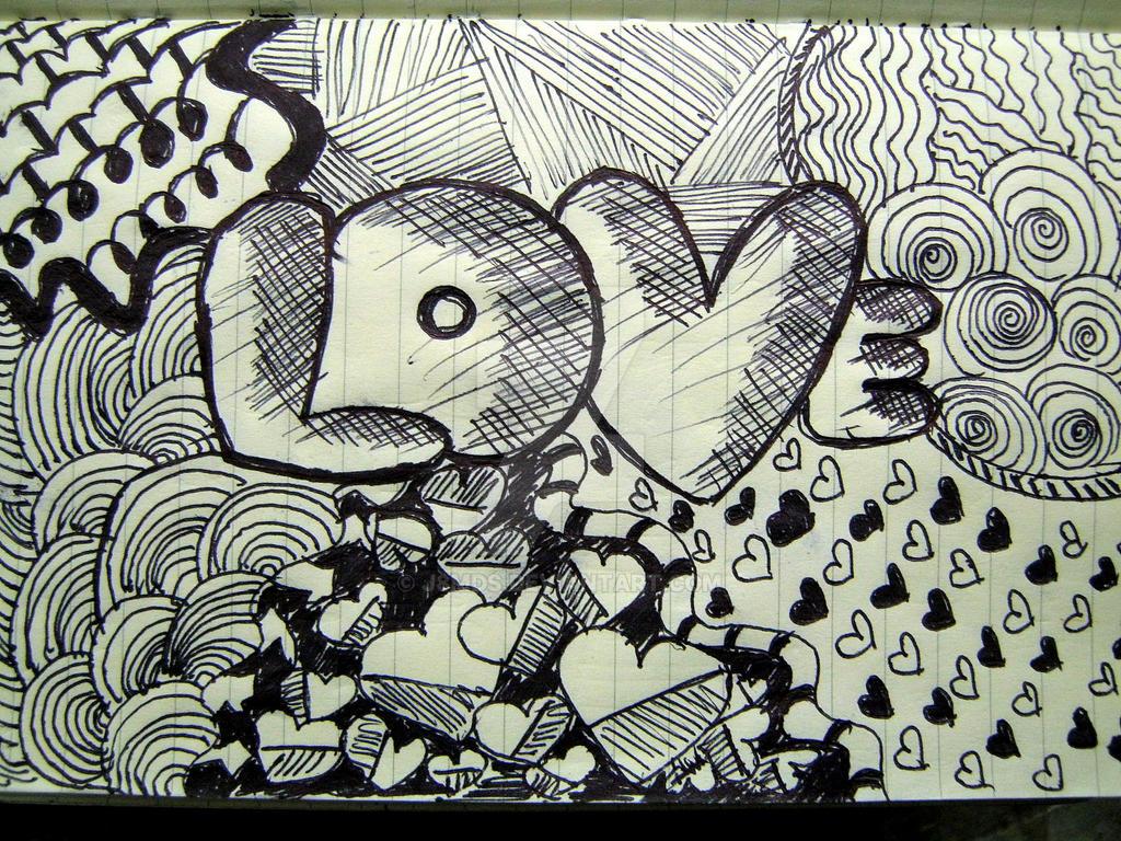 Simple Love Doodle By J8mds On Deviantart