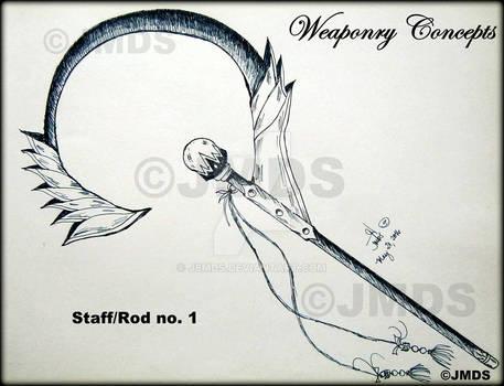 Staff/rod no.  1