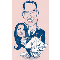 William and Kate (The happy couple) by Drawgood