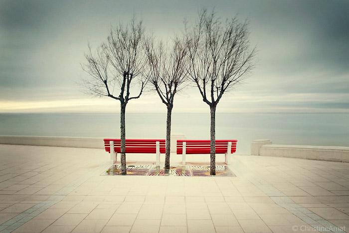 1 place pour toi, 1 place pour moi... by ChristineAmat