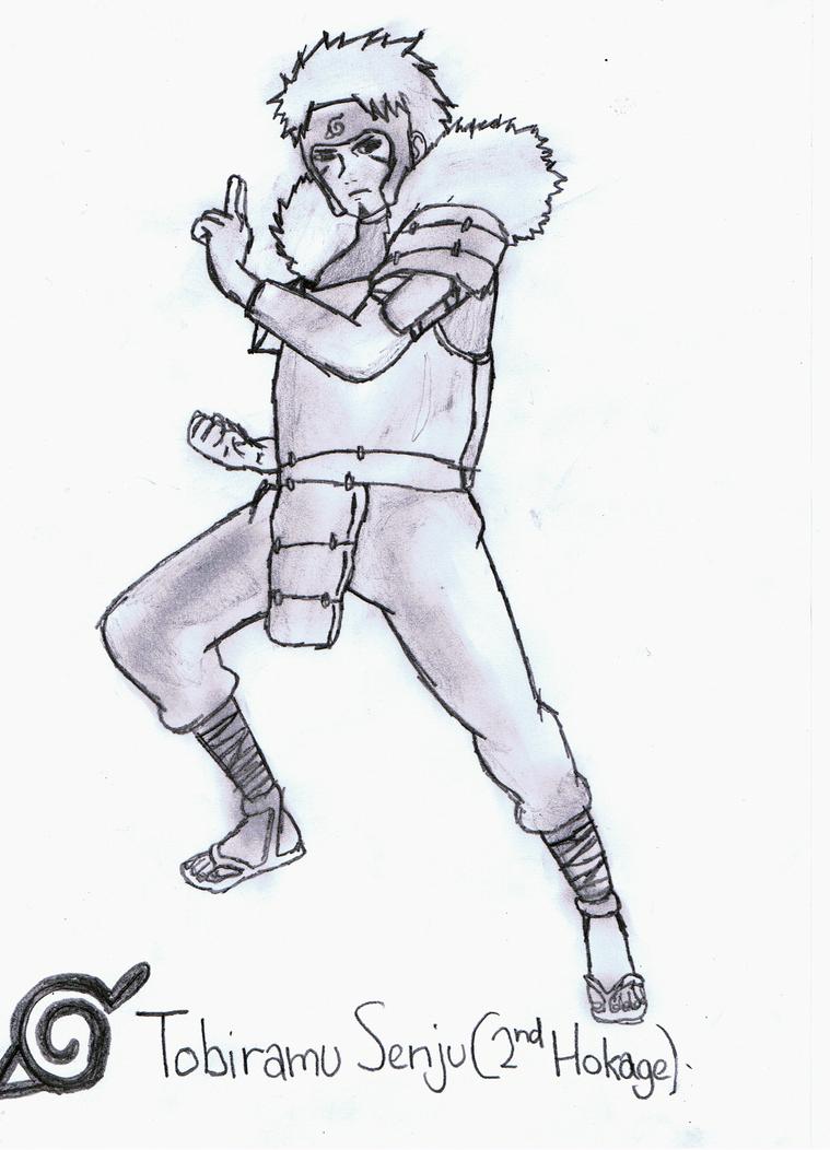 2nd Hokage Tobirama Senju by GeckoPutt