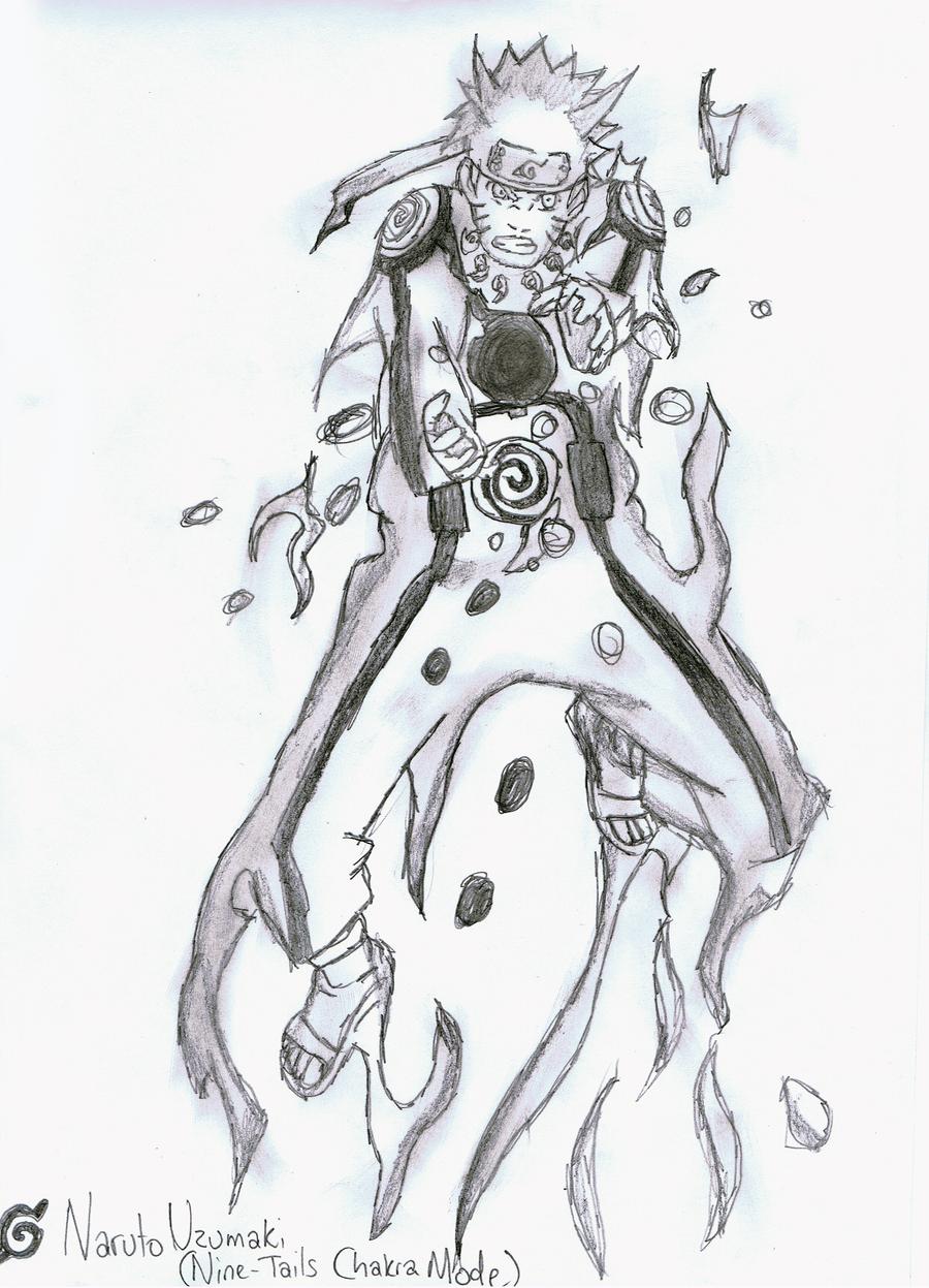 Naruto Uzumaki (Nine Tails Chakra Mode) by GeckoPutt on ...