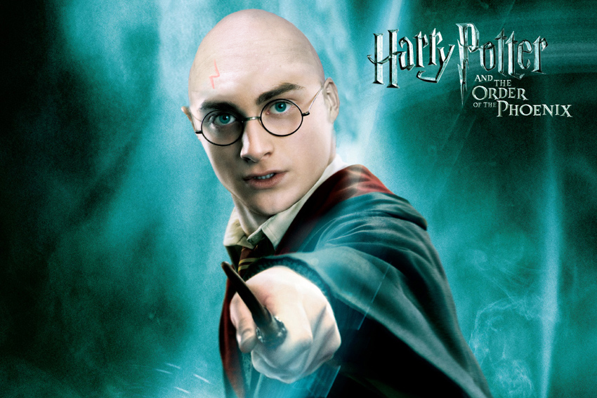 Harry Potter bald by jobjansweijer