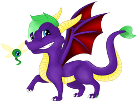 Jacksepticeye - Spyro by Aleirina