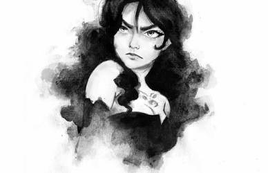 Lust Watercolour by MaggieParvanova