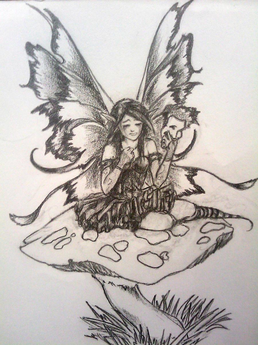 Fairy tattoo design by faustob on deviantart