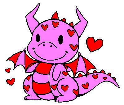 Colored Line Art 73:Late Valentineu0027s Dragon. By XxXCuteBunnyXxX ...