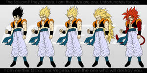 All Forms of Gogeta.