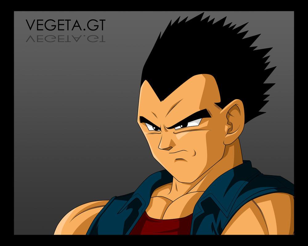 Vegeta GT. by moxie2D