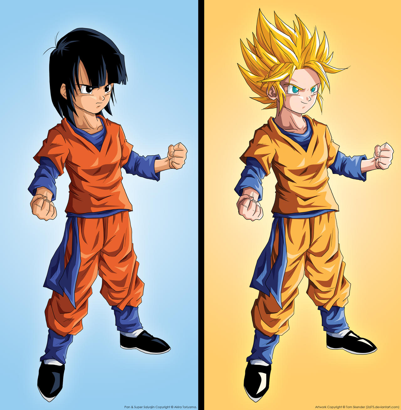 Dragon Ball Super ¡Nueva serie! - Página 2 SSj_Pan__by_2D75