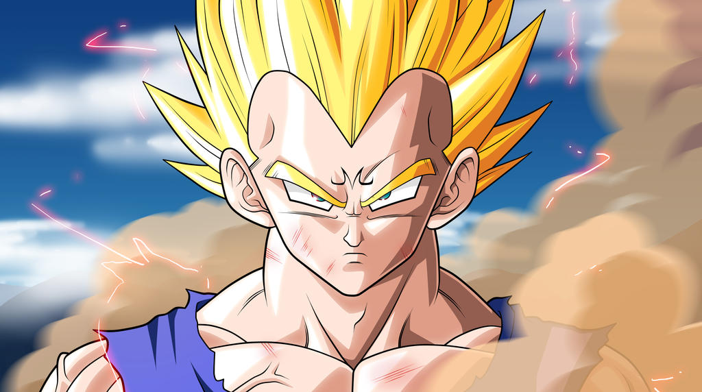 majin vegeta emerges  dbkai by 2d75 d39pziq Dragon Ball Z Saga de Majin Boo  Por Torrent