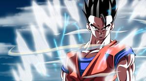 Mystic Gohan Powers Up: DBKai