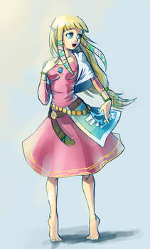 Skyward Sword: Zelda Sketch