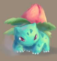 Ivysaur. by moxie2D
