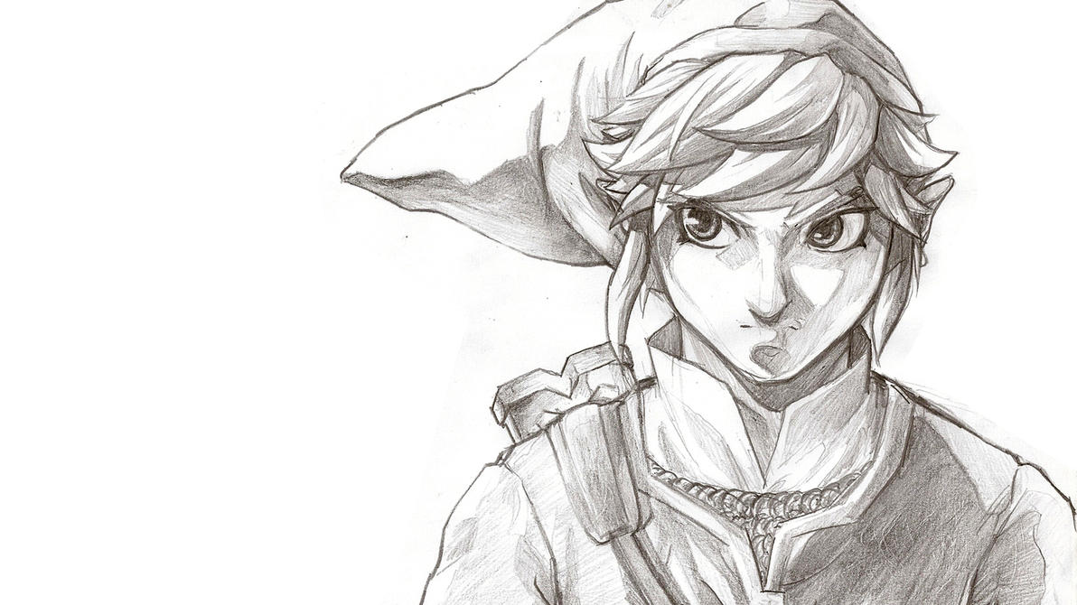 Link - Skyward Sword :Pencils: by moxie2D on DeviantArt