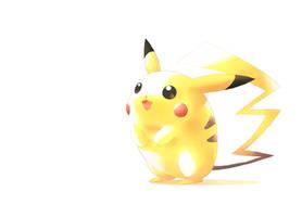 Little Pikachu by moxie2D