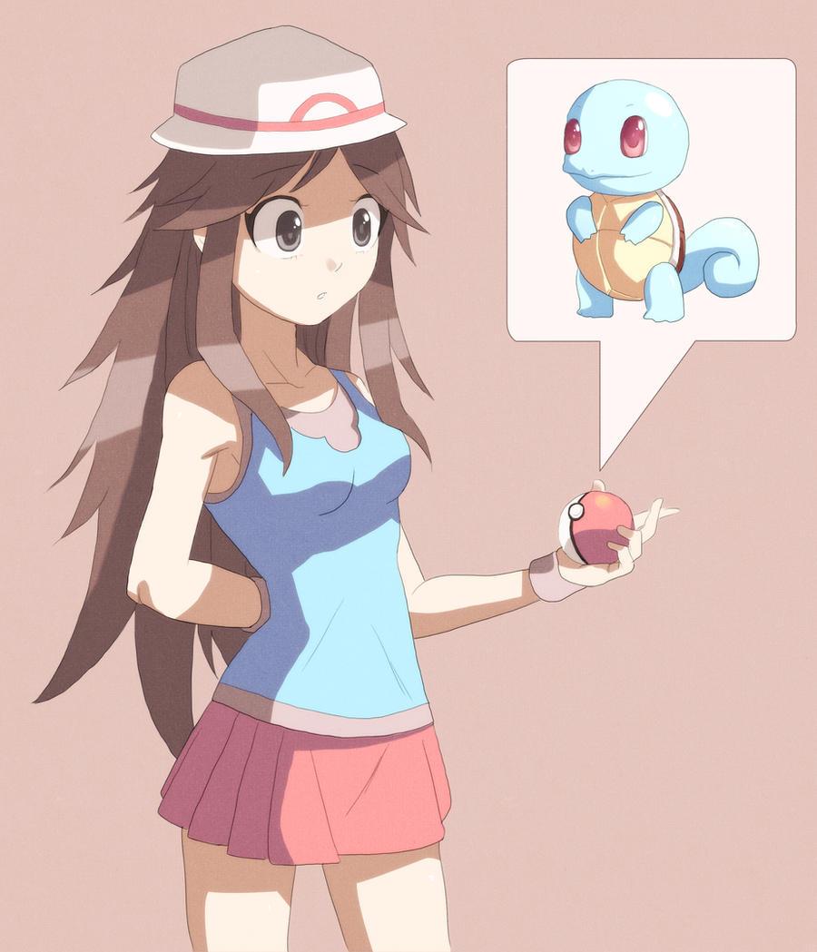 naked pokemon trainer green