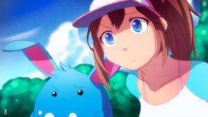 Pokemon Black 2 White 2 - Aryll and Azumarill