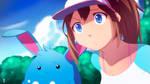 Pokemon Black 2 White 2 - Aryll and Azumarill by moxie2D