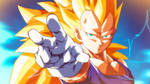 SSj3 Vegeta Final Impact by moxie2D