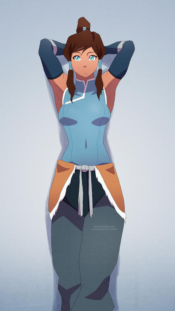 Korra Chillin' - Book 2 by moxie2D