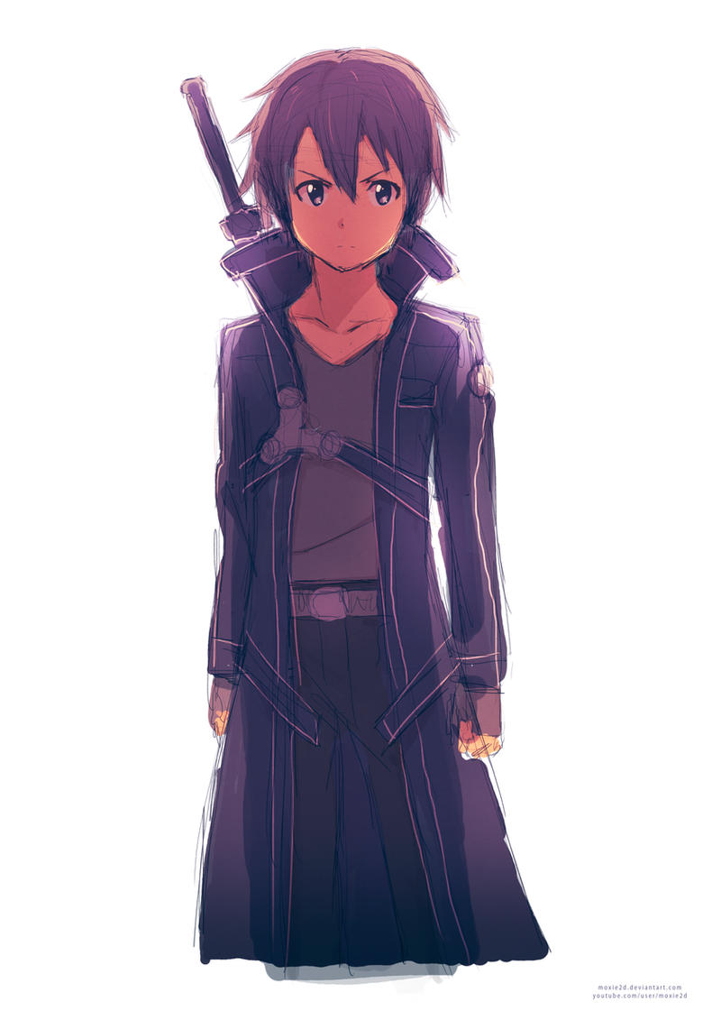 Sword Art Online - Kirito by moxie2D