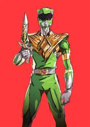 Daily Sketch 15 | Green Ranger