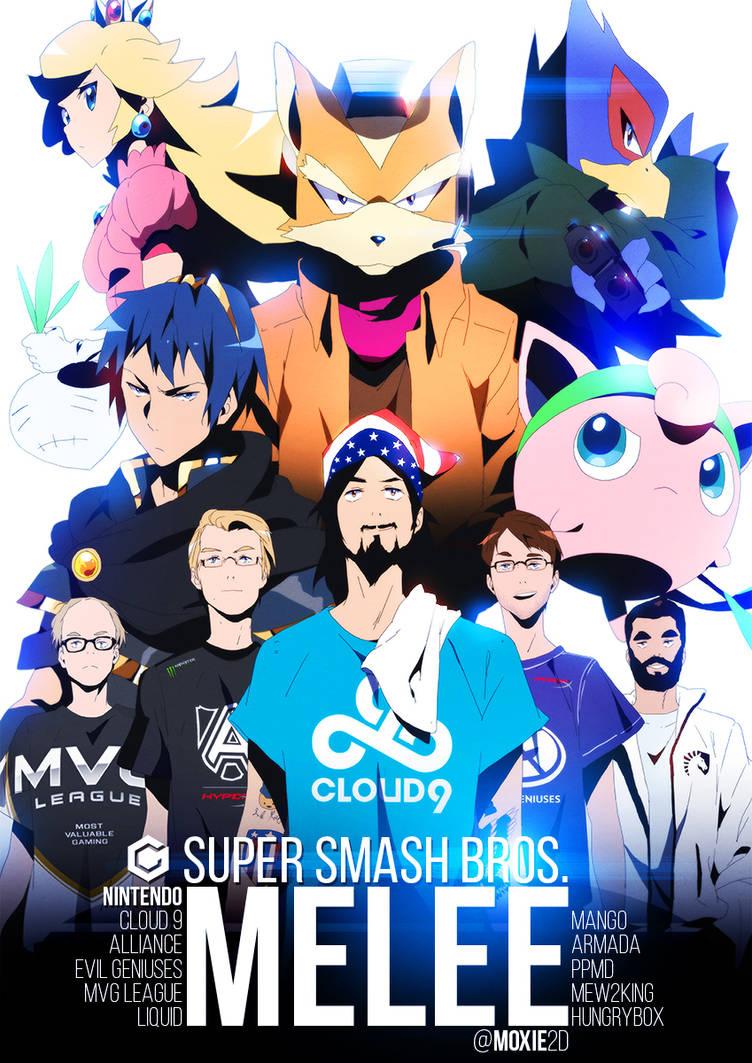 THE FIVE GODS | Super Smash Bros. Melee