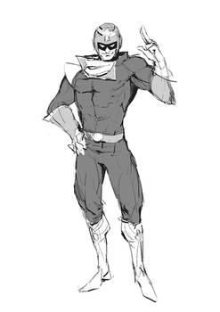 Captain Falcon Sketch