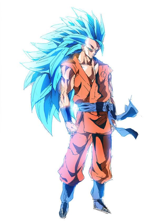 26 | SSGSS3 Goku by moxie2D
