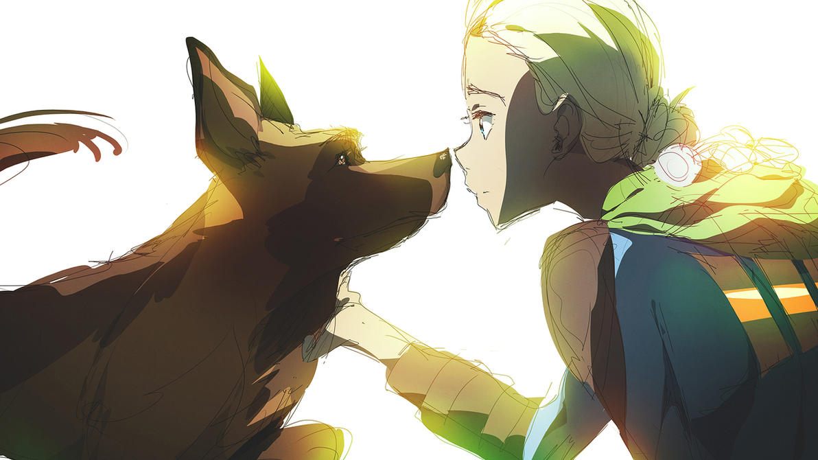 Fallout 3 Anime Characters : Fallout dogmeat by moxie d on deviantart