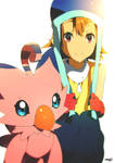 21 | Sora and Biyomon