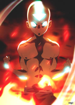 22   Aang Avatar State