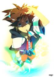 23 | Sora Kingdom Hearts by moxie2D