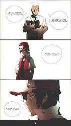 Pokemon Red Comic - 1 by moxie2D