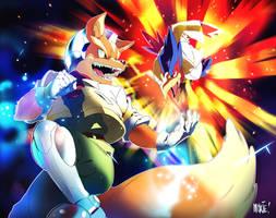 Super Smash Calendar 2017 | Fox and Falco