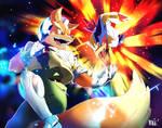 Super Smash Calendar 2017   Fox and Falco