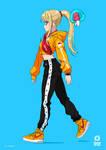 Smash Fashion Samus by moxie2D