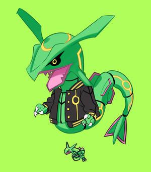 Animal Crossing Pokemon - Rayquaza