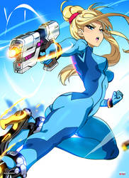 Zero Suit Samus (Smash Anime)