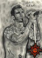 Sully Erna from Godsmack by ThunderhillPaints