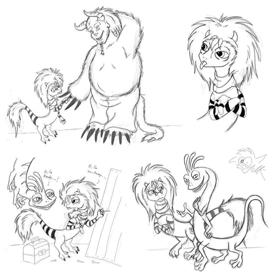 Simple Monster Sketches Monster-sketches